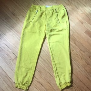 Hei hei anthro Harper joggers bright yellow 27